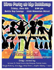 Disco Party at the Bottle Cap 6/6/14