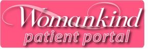 Womankind logo paitient portal