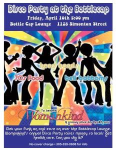 Disco Party flyer 2015